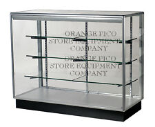 Fully Assembled 4' Extra Vision Aluminum Frame Display Showcase