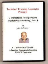 Commercial Refrigeration Equipment Servicing, Part 1 (E-BOOK) on CD