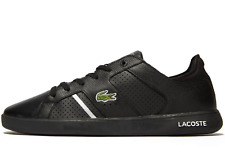 ⚫ Lacoste Novas CT 118 2 JD SPM ( Men Size UK 10 & 11 ) Black Silver Leather