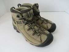 Keen Womens Targhee II Waterproof Mid Hiking Boot 5217-LOdp Brown 9 M  #575