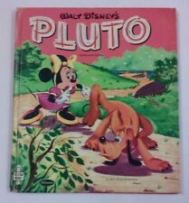 1952 Whitman Tell-A-Tale PLUTO Childrens Storybook VINTAGE WALT DISNEYS