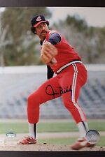 Jim Bibby (d.2010) Cleveland Indians Autographed Signed 8x10 MLB Photo 16L