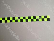3-10M Square Safety Reflective Self adhesive Hazard Caution Warning Tape Sticker