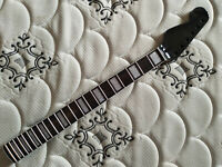 Reverse  headstock Electric guitar neck 22 fret 25.5 inch  maple wood neck