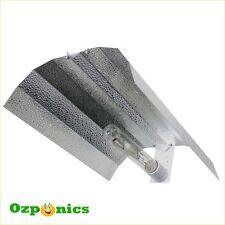HYDROPONICS ALUMINIUM REFLECTOR (390mm x 500mm) Batwing Grow Light Shade