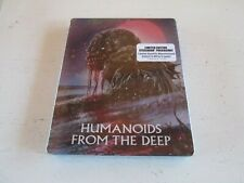 Humanoids from the Deep -- Scream Factory LE Blu-ray Steelbook - New. Mint.