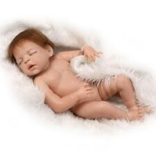 Reborn Baby Doll FULL Silicone Vinyl Dolls 55cm Christmas Gift Toddler Toy 22''