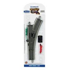 Bachmann 44562 HO Scale Remote Switch E-Z Track Right-Hand Nickel Silver E-Z