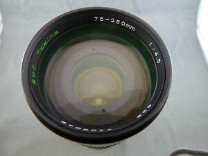 schönes Objektiv RMC Tokina 75-260mm 1:4.5
