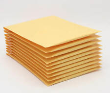 10x 000 Kraft Padded Bubble Mailers Envelopes 4x7 Lightweight Self Sealing