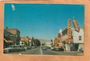 Carson City Nevada 1950 Postcard Mailed