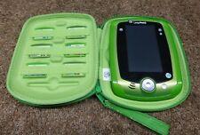 Leapfrog LeapPad Green  Kids Learning Electronic Tablet Case 7 Games