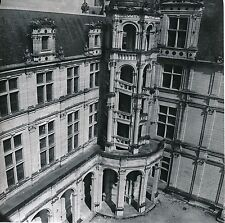 CHAMBORD c. 1955 - Escalier Hélicoïdal Extérieur Château Loir et Cher- Div 10701