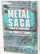 METAL SAGA Complete Guide 2005 Sony PS2 Book MW1x