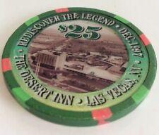 Desert Inn $25 Casino Chip- Discover The Legend