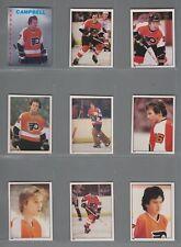 1981-82 O-Pee-Chee Hockey Sticker Philadelphia Flyers Complete Team Set (15) OPC