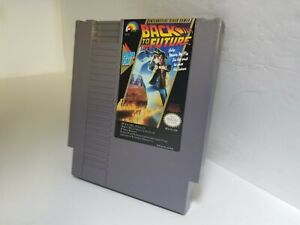BACK TO THE FUTURE Nintendo Cartridge Only NES Cleaned and Tested Works GREATK38