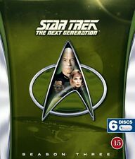 Star Trek: The Next Generation Season 3 Nordic new 6-disc blu-ray multi language