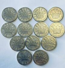 Arcade Gaming Coin Token LOT of 65 25mm Stainless Steel Crown Quick Shipping