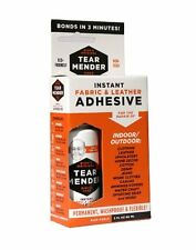 Tear Mender Instant Adhesive 2oz Fabric Leather Adhesive Repair Kit Cloth Shoes