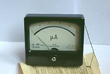 DC 0-200uA Analog Current Panel Meter, USSR 1986, Professional Device. NOS.