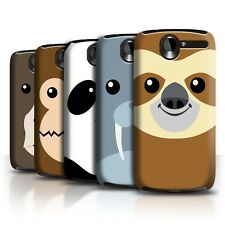 STUFF4 Back Case/Cover/Skin for HTC Desire G7/Cartoon Animal Faces