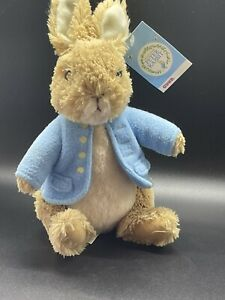 "GUND Classic Beatrix Potter Peter Rabbit 8"" Plush Bunny Stuffed Animal Toy NEW"