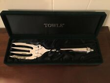 Towle Silver Plate Salad Set Fork And Scoop 2 Pc Set