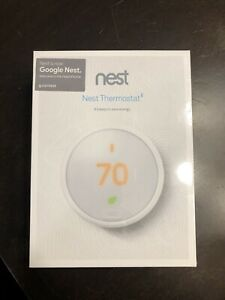 Nest Thermostat E (T4000ES) Smart Thermostat - White