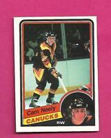 1984-85 OPC # 327 CANUCKS CAM NEELY ROOKIE NRMT-MT  CARD (INV# D2117)