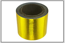 """2""""x33' Roll Self Adhesive Reflective Gold High Temperature Heat Shield Wrap Tape"""