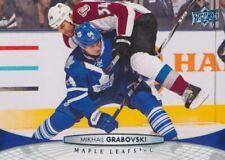 2011-12 Upper Deck #276 MIKHAIL GRABOVSKI - Toronto Maple Leafs