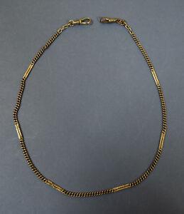 Alte Uhrenkette - schmal - 47 cm - 800er Silber -  #15441