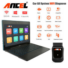 Wireless Wifi OBD2 Tablet Scanner Full System ABS SRS DPF TPMS Diagnostic Tool