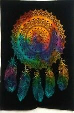 Dream Catcher Wall Hanging Small Tapestry Poster Textile Multi Art Cotton Indian