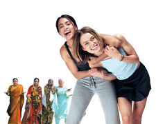 Parminder Nagra and Keira Knightley in Bend It Like Beckham 16x20 Canvas Giclee