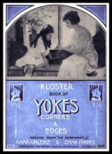 Kloster Book Of Yokes #182 c.1910 - Fancy Crochet Yoke Patterns