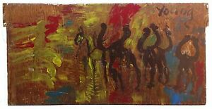 """PURVIS YOUNG """"MEN ON HORSEBACK"""" 