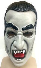 Vintage Style Dracula Mask Latex Halloween Fancy Dress Costume Vampire Classic