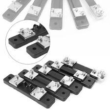 1pcs Current Shunt Resistor 75mv Dc 10a 20a 30a 50a 100a Fit Amp Ammeter Panel