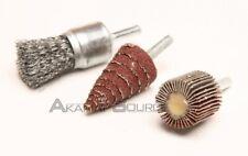 3pc Abrasive Wheel Set 1/4