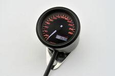 DAYTONA VELONA, Digitaler Tacho, bis 260 km/h,  rund Ø 48 mm, schwarz,UNIVERSAL,