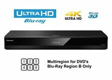 Panasonic DP-UB820EBK 4K UHD Blu Ray Player, DVD Multiregion