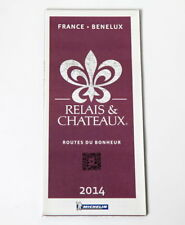 CARTE MICHELIN COLLECTOR RELAIS ET CHATEAUX FRANCE BENELUX 2014