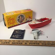 Lang Craft Speed Boat, Model L-325 With Motor and Original Box - Made in Japan