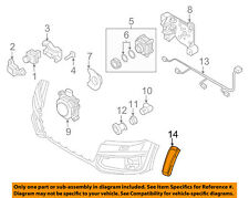 AUDI OEM 17-18 Q7 Front Bumper-Side Marker Lamp Right 4M0945072