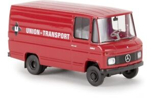 Brekina 36841 - 1/87 Mercedes-Benz L406 D Scatola - Union Trasporto - Nuovo