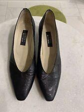 Stuart Weitzman Womens Woven plus Patent Leather Pumps Black Size 11 B