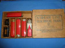 Marx #7844 Train set w/Original Box: Streamliner Union Pacific M10005 w/4 Pass.