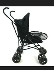 "New Pet Gear Travel Lite Plus Stroller in Black 38"" Tall for Cats / Small Dogs"